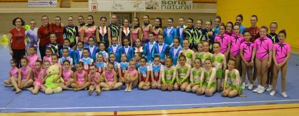 Buenos resultados del Club Gimnasia Duero en Valladolid
