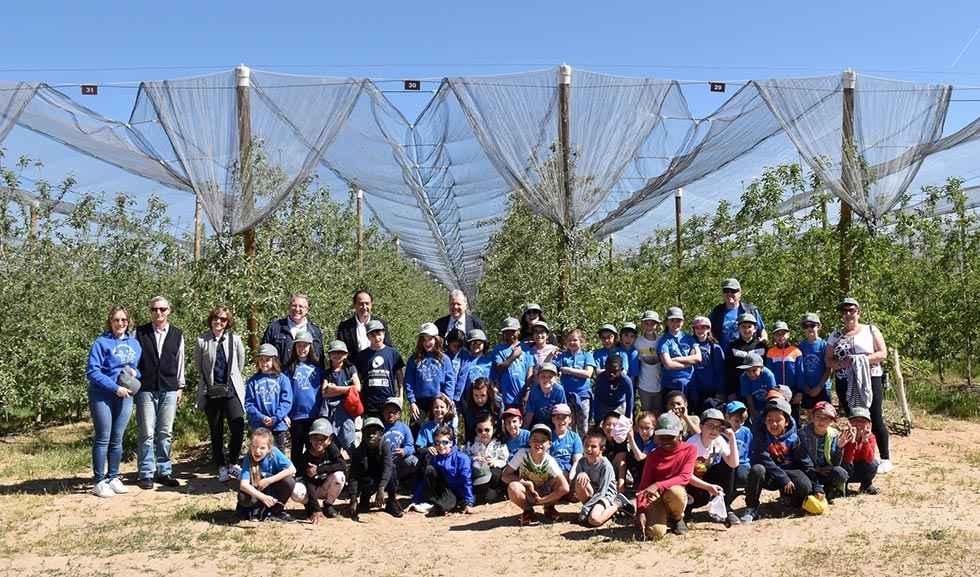 La Junta facilita que 1.200 escolares visiten la finca de Nufri