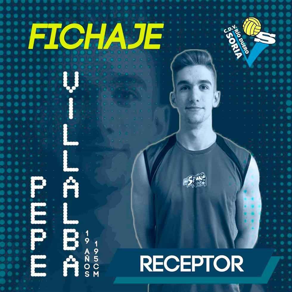 El internacional Pepe Villalba se suma a proyecto Río Duero Soria