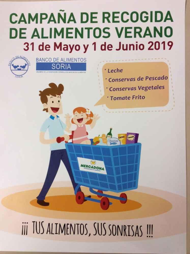 El Banco de Alimentos programa dos actividades solidarias