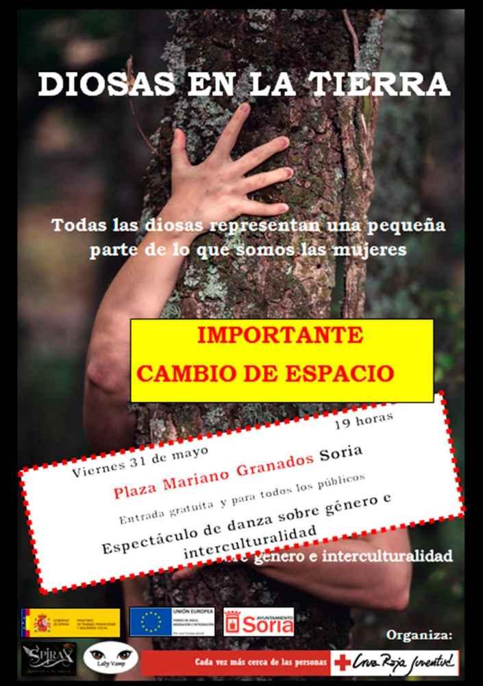 Cruz Roja sensibiliza con danza sobre interculturalidad y género