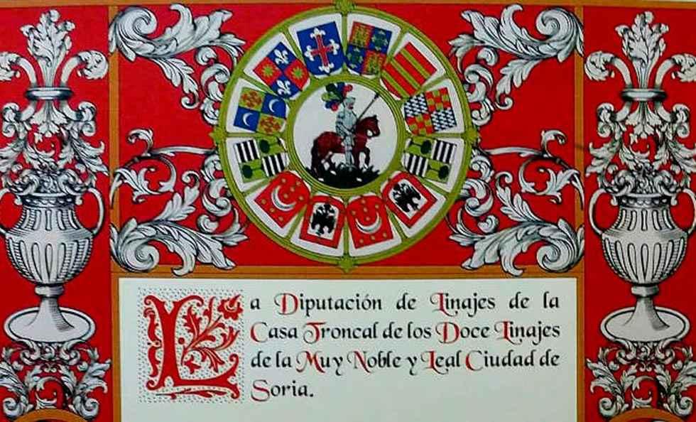 Conferencia sobre el origen de Soria y los Doce Linajes
