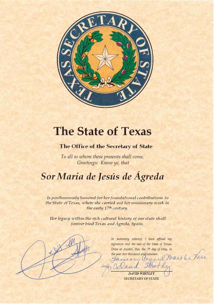 Ágreda se hermana con San Angelo y Texas