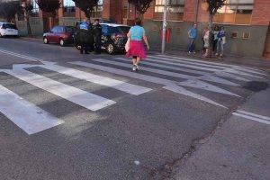 Atropellada una mujer en un paso de cebra de Soria