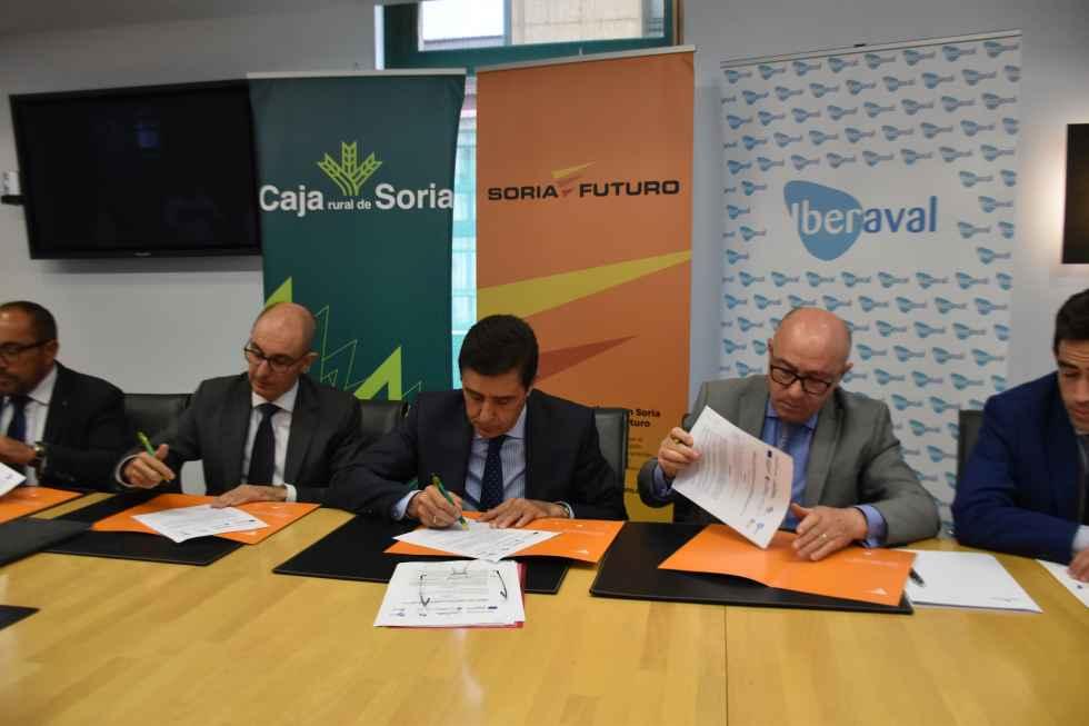 Soria Futuro se alia con Iberaval para mejorar instrumentos financieros