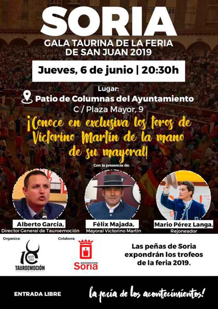 Gala Taurina de la Feria de San Juan 2019