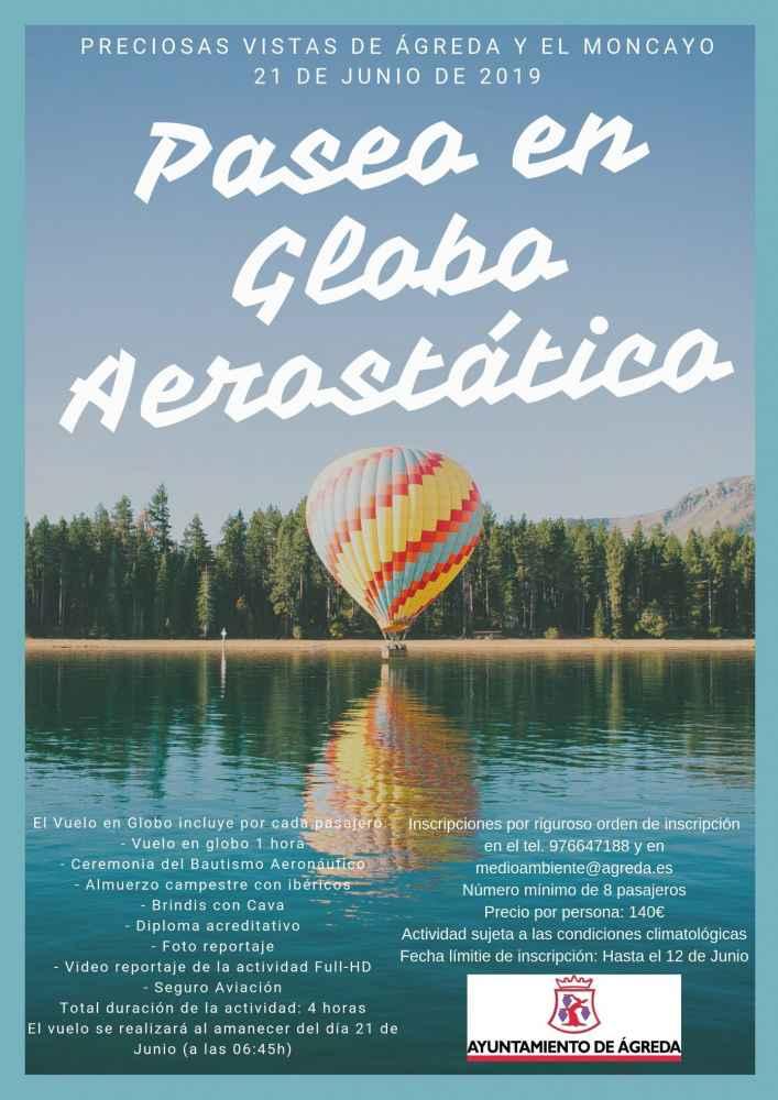 El Moncayo, en globo aerostático