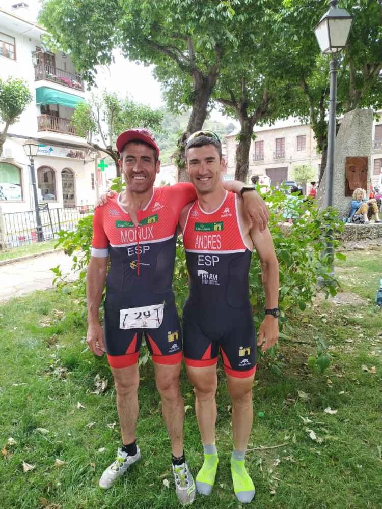 Rubén Andrés, campeón regional de Triatlón MD en El Bierzo