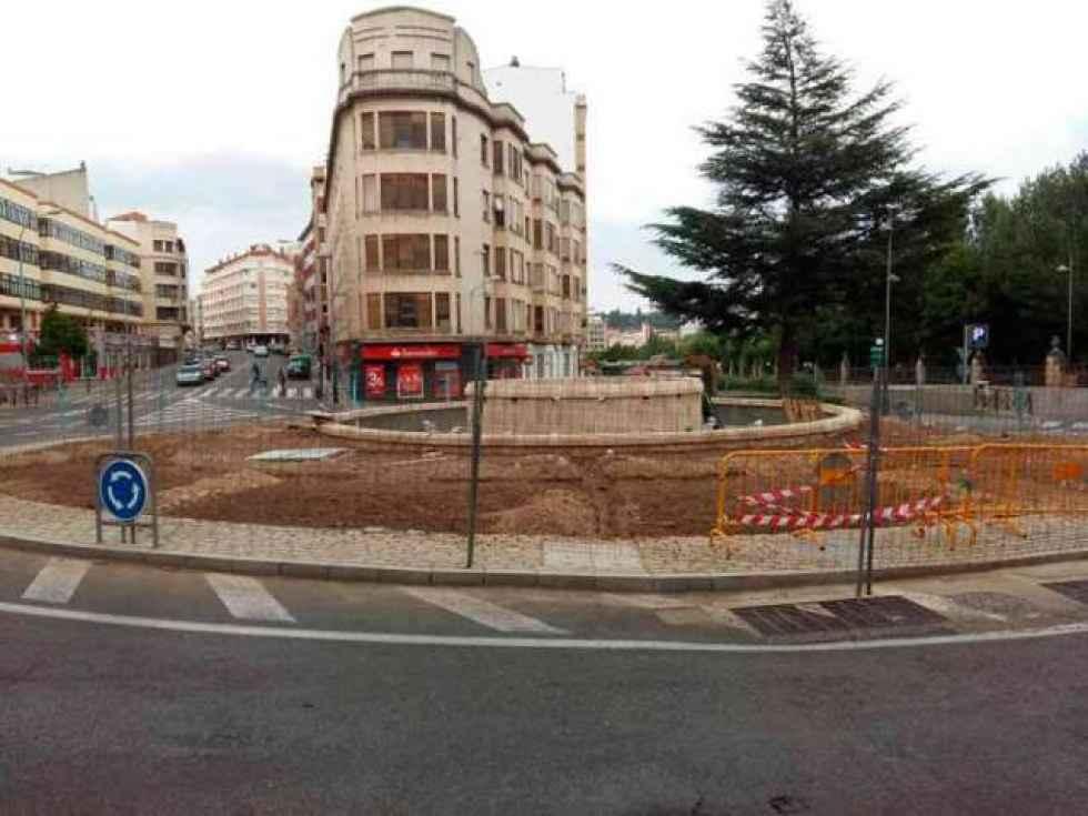Segunda fase de obras para mejorar la rotonda de El Espolón