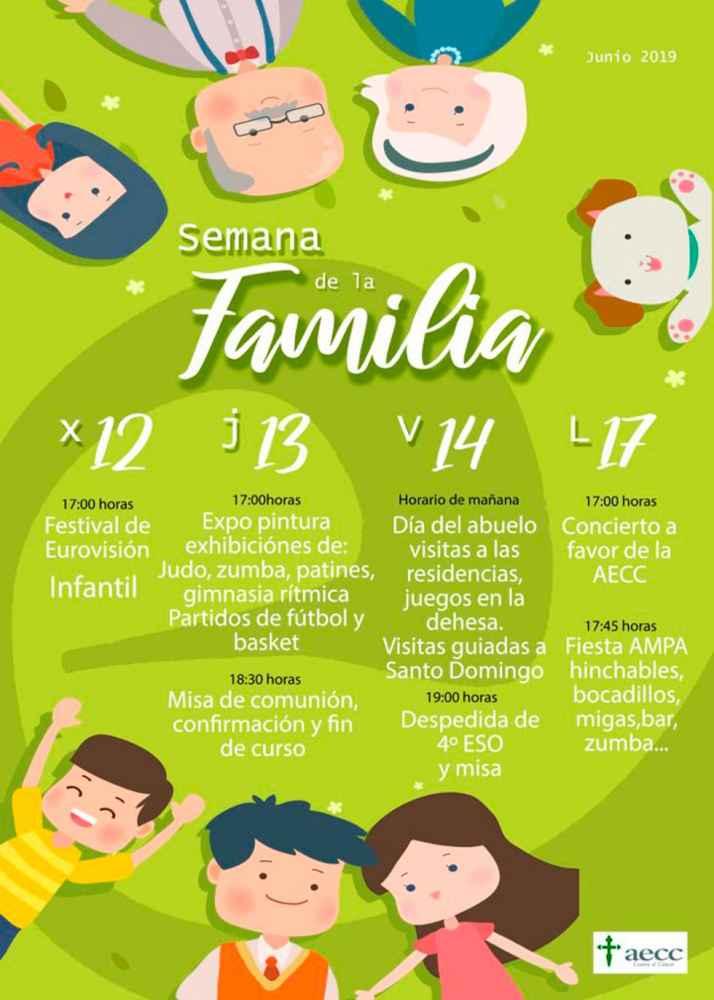 El colegio Las Escolapias celebra la Semana de la Familia