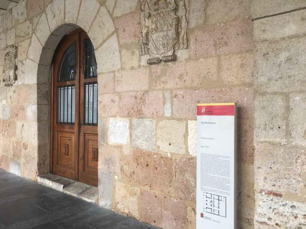 El Burgo de Osma estrena señalización turística monumental y senderista