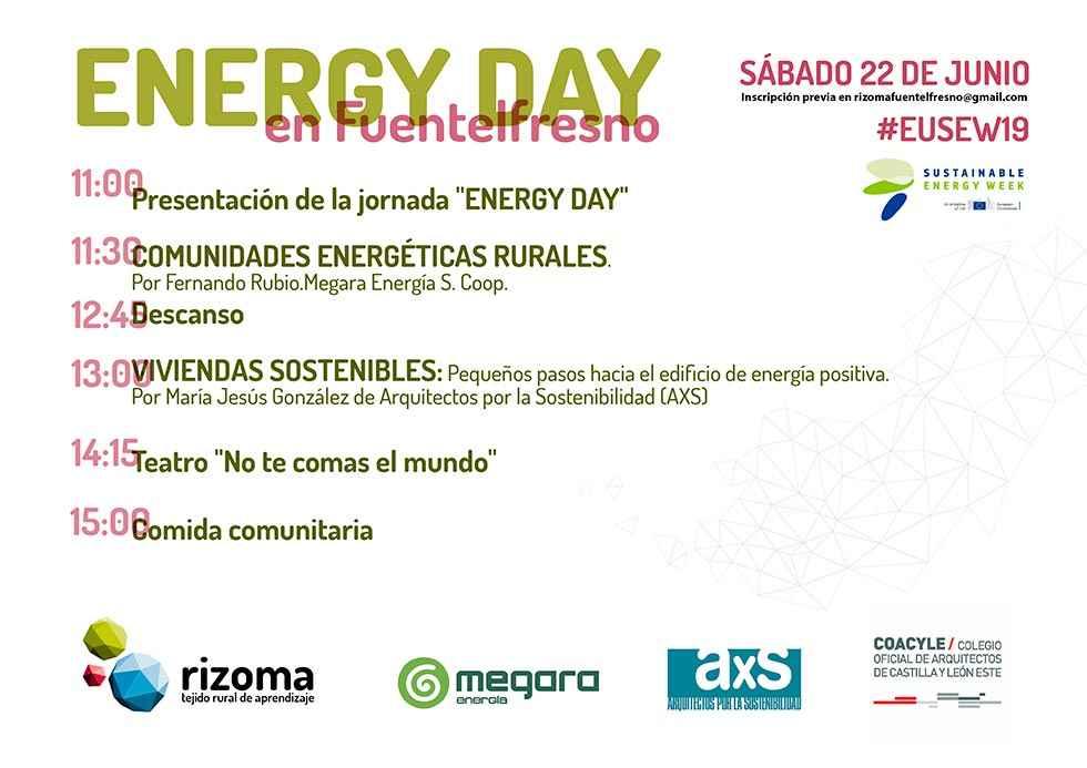 Energy Day en Fuentelfresno para incentivar las actividades sostenibles
