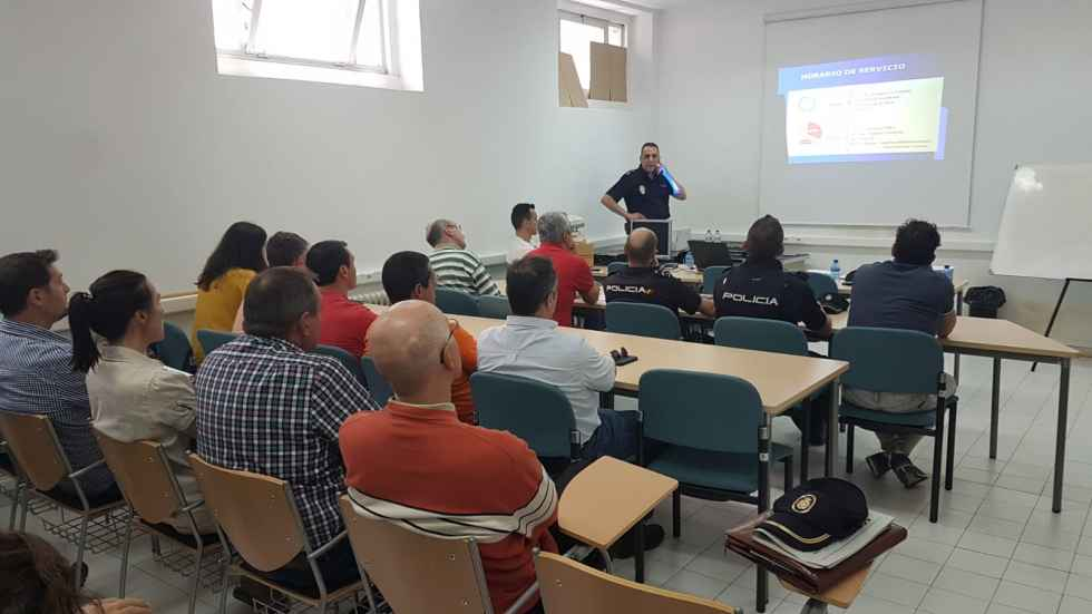 Jornada formativa sobre los Centros de Cooperación Policial y Aduanera