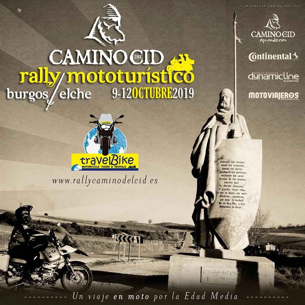 El primer Rally Mototurístico Camino del Cid abre inscripciones