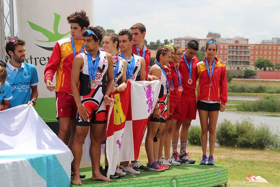 Los Izquierdo, con selección de Castilla y León en campeonato nacional