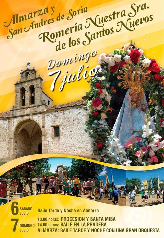 Almarza y San Andrés de Soria celebran la romería de los Santos Nuevos