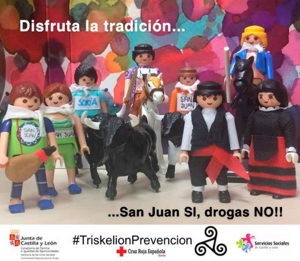 Cruz Roja conciencia y orienta sobre prevención de drogas en San Juan