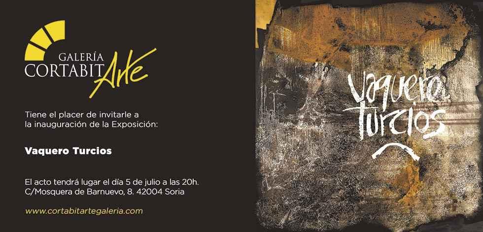 Cortabitarte Galería abre una exposición de Vaquero Turcios
