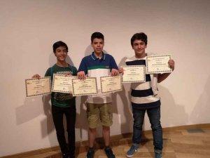 Ganadores de la XXVII Olimpiada Regional de Matemáticas