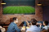 Desigual impacto económico de la retransmisión de fútbol en los bares