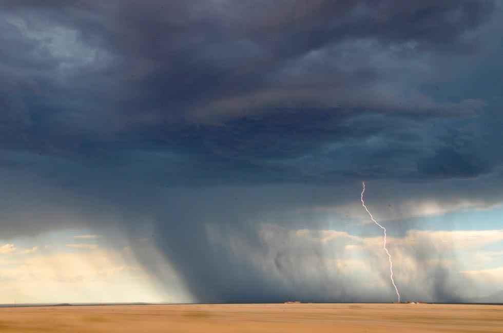 En alerta por tormentas, con granizo y rachas de viento