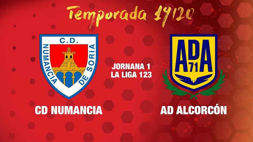 El Alcorcón, primer rival del Numancia en la temporada 2019-20