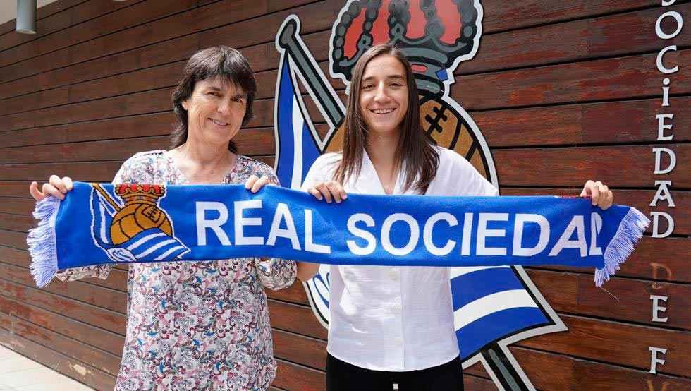 Lucía Rodríguez ficha por la Real Sociedad
