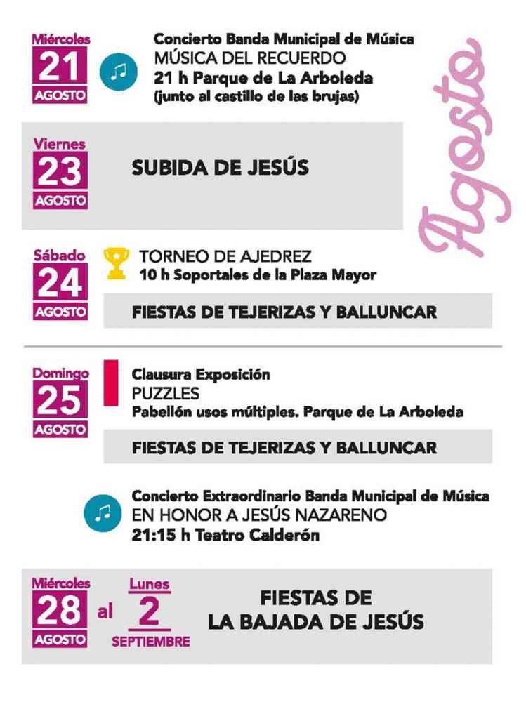 Programación cultural de verano en Almazán