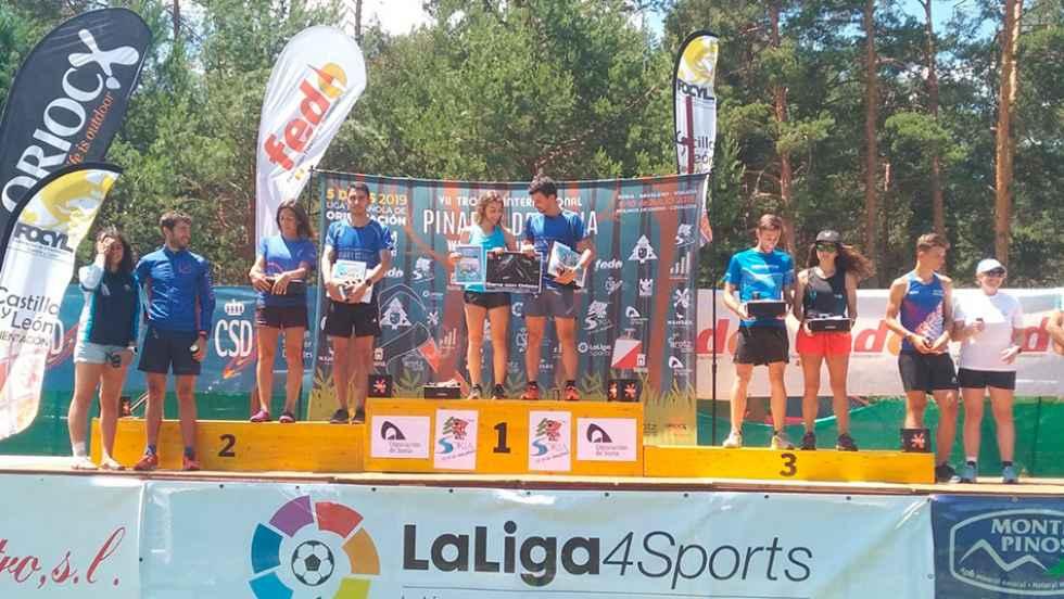 María Prieto, protagonista del VII Trofeo Pinares de orientación
