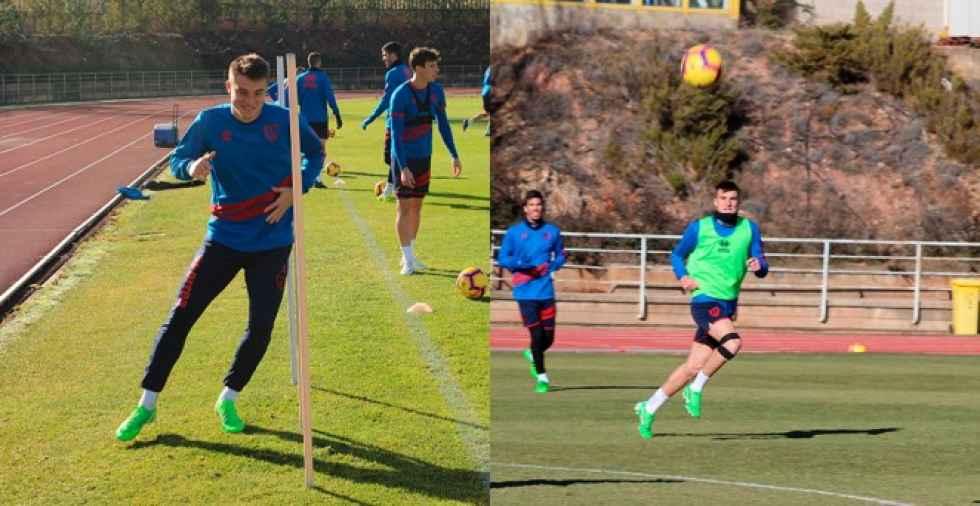 El Numancia cede a Jordi Sánchez al Valencia Mestalla