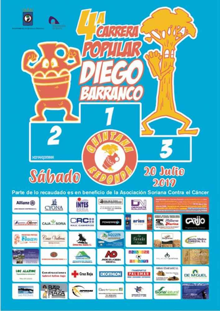Inscripciones para la IV Carrera popular Diego Barranco