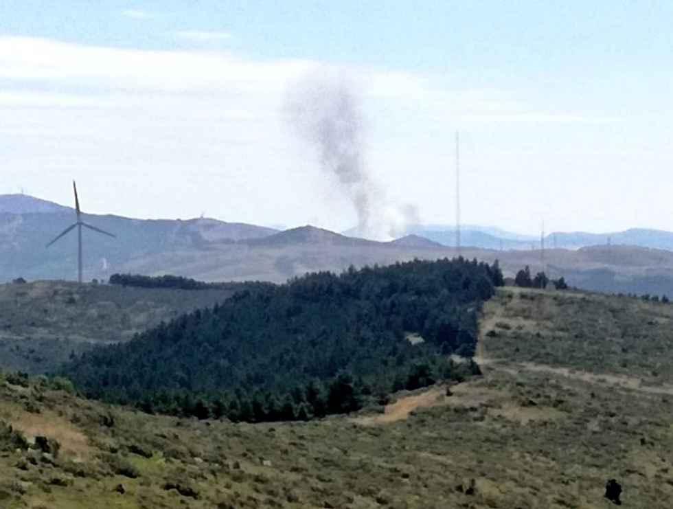 Un incendio en Noviercas calcina diez hectáreas de cereal