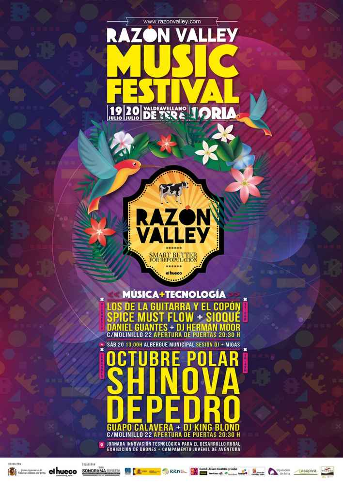 El Autobús de la Repoblación llega al II Razón Valley Musical Festival