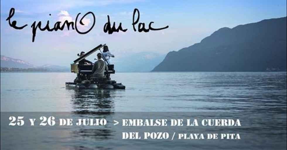 """""""Le Piano du Lac"""" llega a la Cuerda del Pozo"""