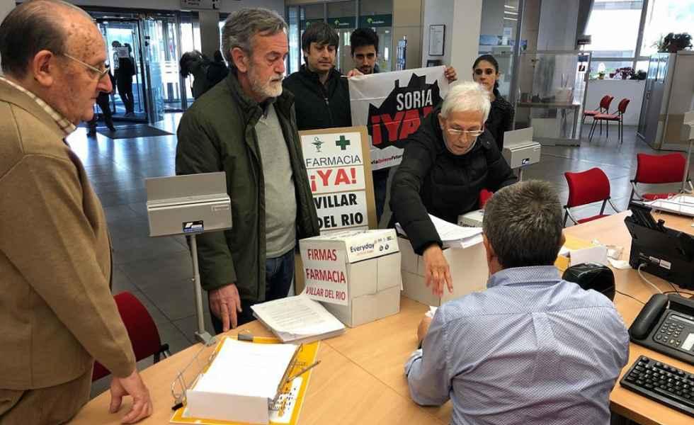 Más cartas para reclamar la reapertura de la farmacia de Villar del Río