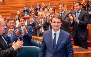 Mañueco, elegido presidente de la Junta de Castilla y León