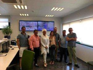 La líder colombiana Piedad Córdoba visita COPISO