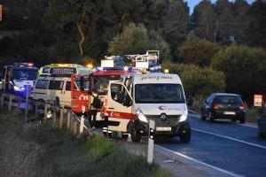 Tres vehículos implicados en el accidente de tráfico de Toledillo