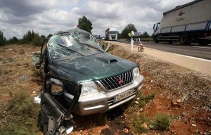 El conductor fallecido en accidente en N-122 es vecino de El Burgo