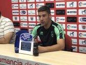 """Carrión: """"Contra Osasuna espero mejorar algunas cosas"""""""