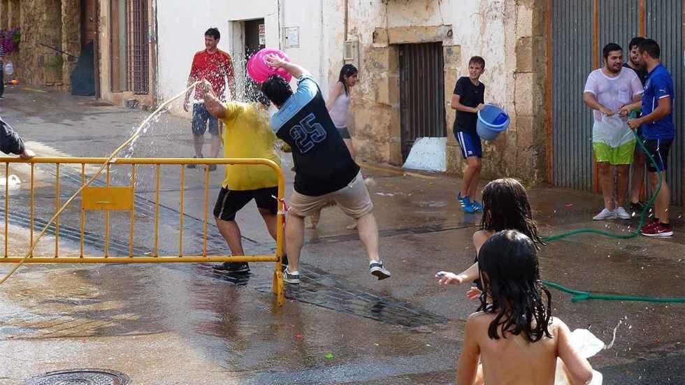 Programa de las fiestas del barrio de Las Casas