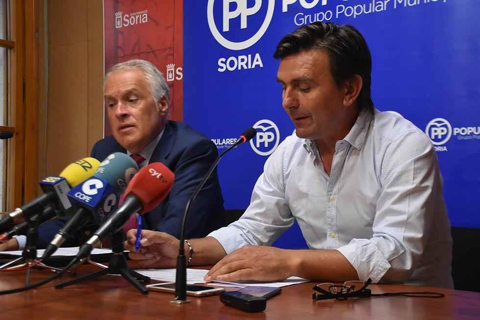 El PP denuncia la falta de gestión municipal en los asuntos importantes