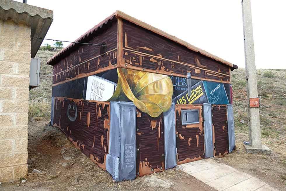 El antiguo depósito de Fuentelsaz, un baúl cargado de historia