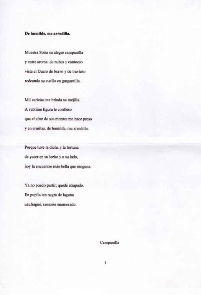 "Teresa Rubira recoge el premio del VII Certamen Literario ""Un Soneto para Soria"""
