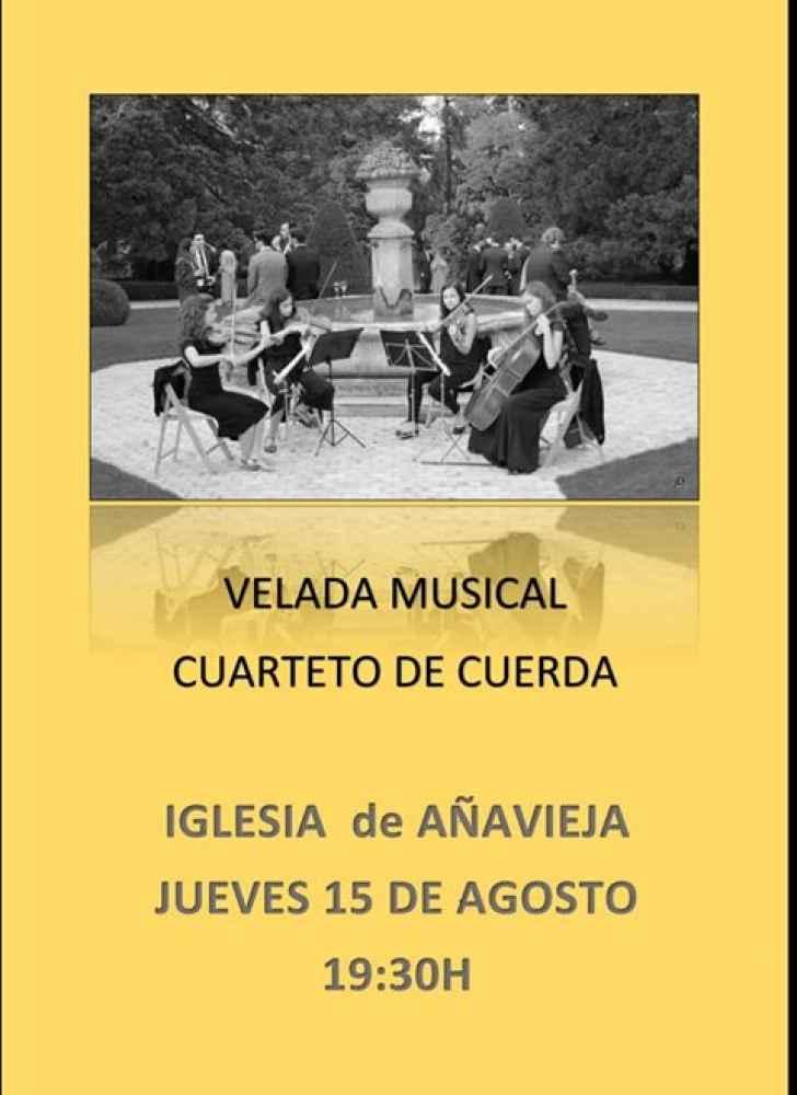 Concierto de cuarteto de cuerda en Añavieja
