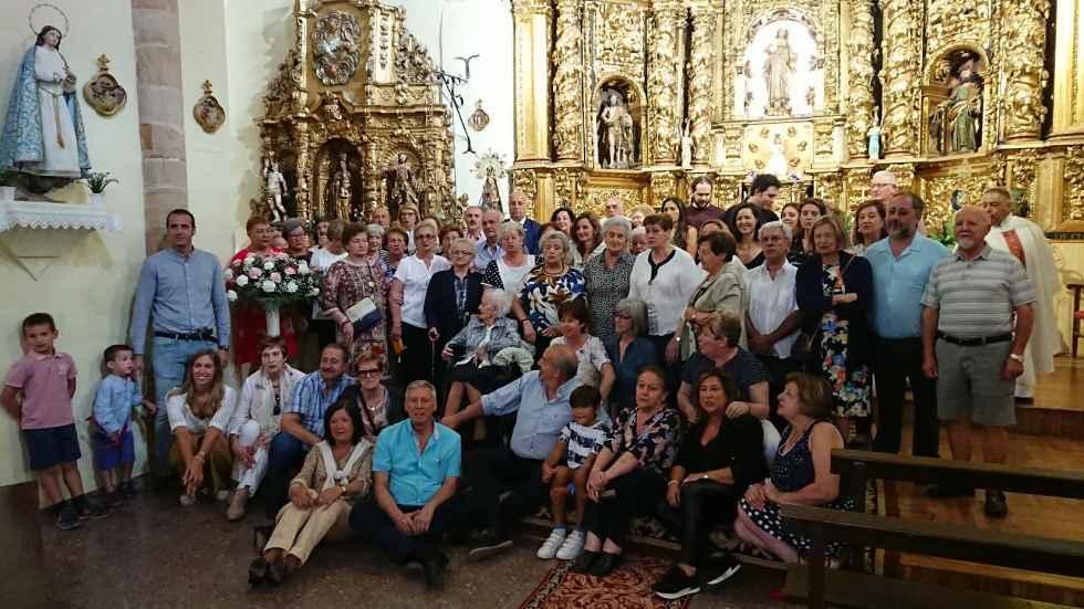 Homenaje concurrido en Trévago a centenaria Susana Lázaro