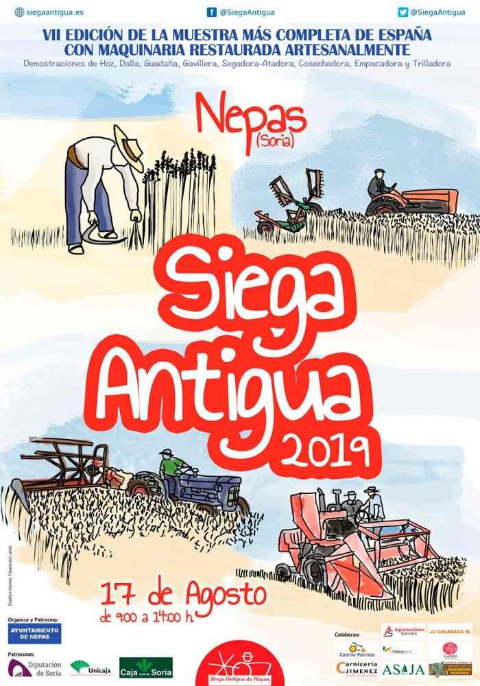 Nepas celebra la VII edición de la Siega Antigua