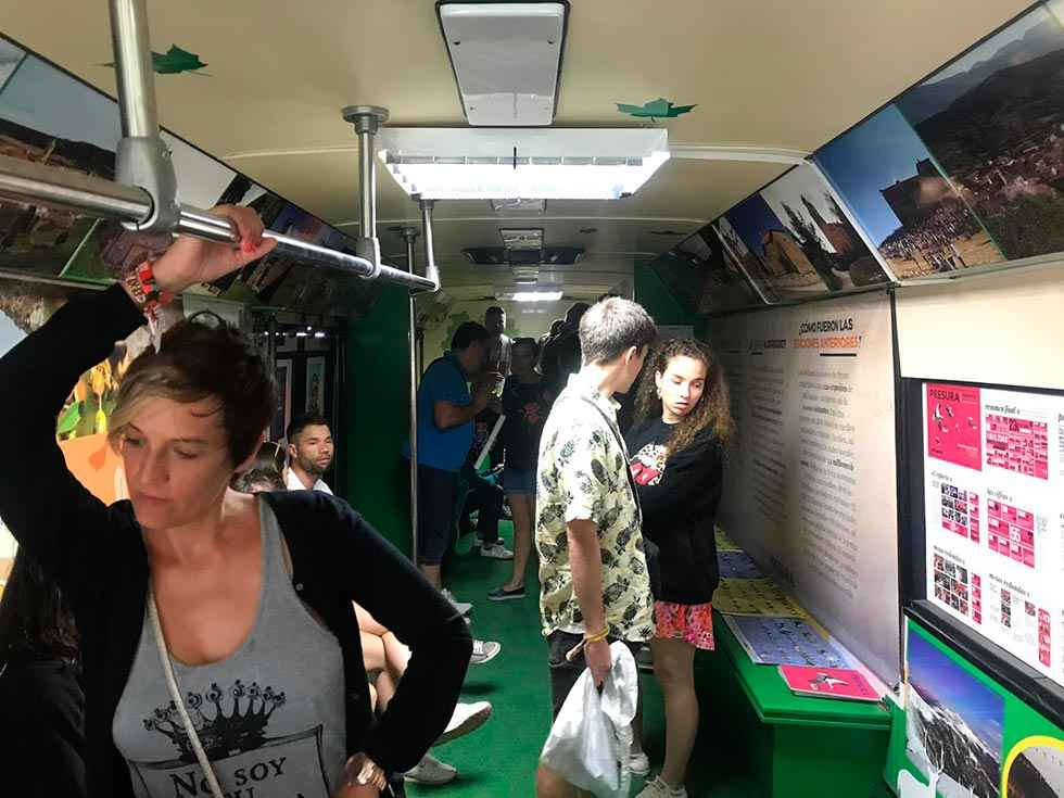 El Autobús de la Repoblación asiste al Camino Duero Fest