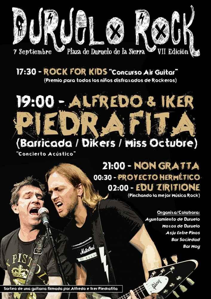 Concierto de Alfredo & Iker Piedrafita en Duruelo Rock