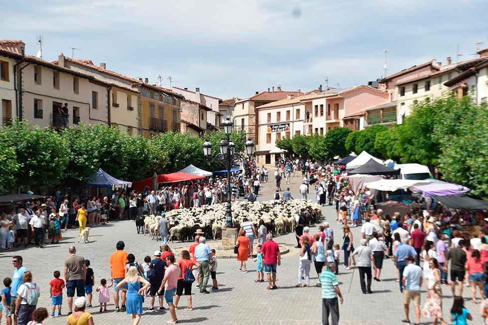 San Pedro Manrique rememora su mercado de antaño